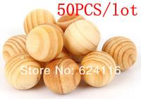 P16 50pcs/lot Aromatherapy Supplies, Pest Control, Moth, Sandalwood Fragrant Wood Fresh Air ball