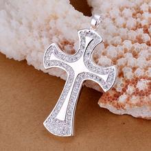 Wholsale new 925 Sterling Silver pendant fashion jewelry necklace pendant free shipping Penoyjewelry LKNSPCP236