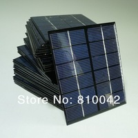 Wholesale 2W 6V Polymer Crystalline Silicon Solar Panel DIY Solar Power System Charging Battery 3.7V/4.2V 20pcs/lot FreeShipping