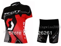 2009-2012 Ladies sctt cycling short sleeve jersey and shorts Monton Cycling Clothing Jm6191174