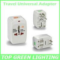 Free Shipping World Travel Universal Adapter Plug 110V 120V 220V 230V 240V EU UK AU USA DE ES FR CA Plug Power Adaptor Converter