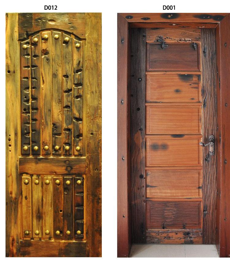 Guchuan wooden door set wooden furniture interior door gate sliding door high quality classical(China (Mainland))