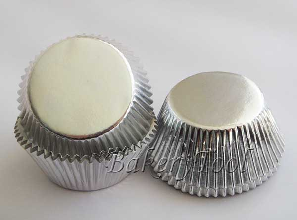 hot selling 600 pcs silver paper baking tools and equipment cup cake cases as wedding decoration FREE SHIPPING(China (Mainland))