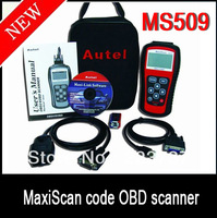 high quality MS509 MaxiScan code OBD scanner 2013 the latest version Freeshipping
