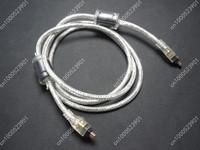 1.5M 4 to 4 Pin Mini B Male M/M IEEE-1394 iLink FireWire DV Cable
