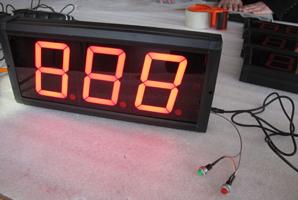 Hot product: 4 inch 3 digits indoor countdown queue counter led signdigital  clock