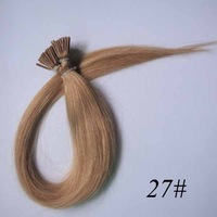 "2# Jet Black Hook loop Micro Bead Remy Human Hair Extensions 100S/pack straight  18"" 20"" 22"" Best Price Free Shipping"