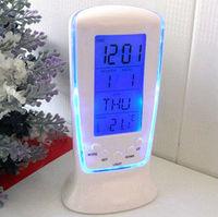 atmos digital alarm clock home decor led clock electronic 2014 new crafts electronic novelty households clock despertador gadget
