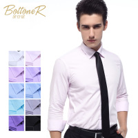 2013 new men and business casual dress shirt of England's Euro wind color XXXL 4XL wholesale price