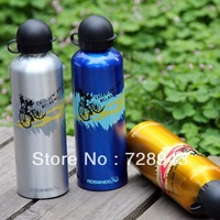 Cycling Bike Bicycle 750ml Aluminum Alloy Sports Water Bottle Ultralight