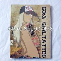 goi & girl tattoo book magzine A4 size for tattoo