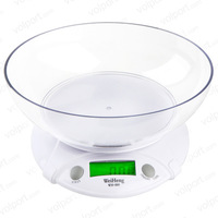 Free Shipping New 7KG/1G Multifunction Digital LCD Electronic Parcel Food Weight with Bowl Kitchen Scale