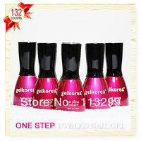Free Shipping +One Step Nail Gel Polish Wholesale CNF Gelkorea 48Pcs Color Gel  15ml Soak Off Uv Led Sale