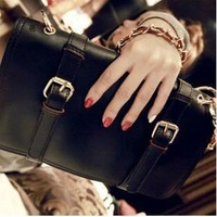 2013 New Fashion women's brand handbag Top PU Good quality Lowest price day Clutches Free shipping