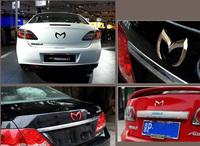 Chrome Car Emblem Bat Batman Metal Silver Goldn Red,Black Badge 3D Car Sticker Decal fit for Mazda