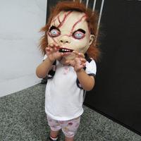 CHUCKY Mask Latex Full Head Adult Costume Halloween Creepy Scary