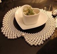 Pearl collar Choker Pendant necklace Sweater Chain jewelry Handmade Jewelry  XL-053