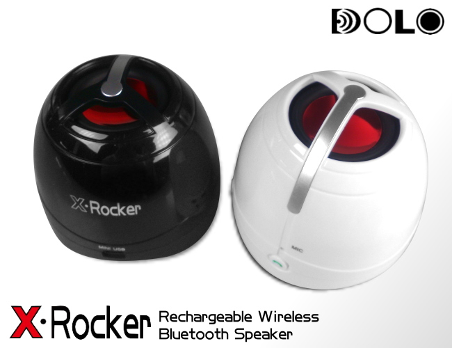 DOLO X-Rocker power bass portable rechargeable mini bluetooth speaker V3.0 handsfree(China (Mainland))