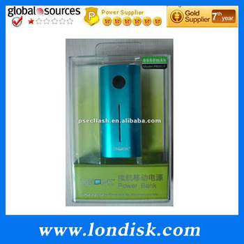 High quality LONDISK portable power bank  PB002P 6600MAH Compatible with the majority of mobile phones