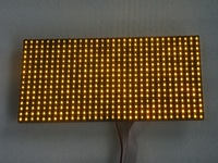 2013 free shipping led scrolling billboard module P10 outdoor white LED sign display yellow module 320*160  high brightness