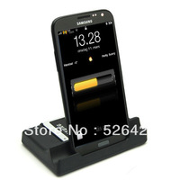 Dual Hotsync Cradle Charger With Battery Slot For Samsung Galaxy Note 2 II N7100