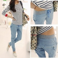 Hot sale! Free shipping 2013 autumn and winter new women's fashion casual loose big yards was thin harem pants trousers