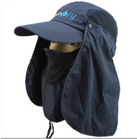 Summer anti-uv quick-drying outdoor hat sun hat bush hat bucket hat sunbonnet ride cap
