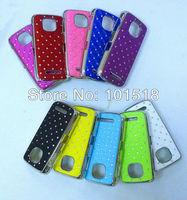 10pcs/lot Free shipping New Luxury Bling Diamond Crystal Star Hard Case Cover for Nokia Asha 311