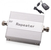 Free Shipping GSM Cell Phone Signal Repeater Amplifer - Silver