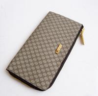 Fly bag 2013 male single zipper long design big clutch wallet pvc letter