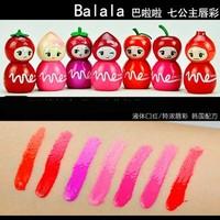 Balala lip gloss lip gloss 8009 fruit mini doll lip gloss liquid lipstick
