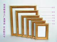 2014 Frame for Photo Quadros De Parede Frames for Photos Home Garden Gold Fashion Picture 6 7 8 10 12 Hanging A4 Certificate