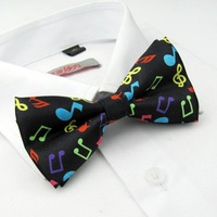 Textile printing bow tie Men's tie bridegroom bow tie grooms Man Bow Tie Party Bow Tie The most fashionable