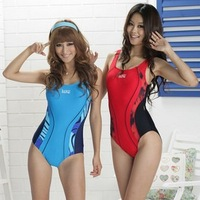 021s triangle one piece swimsuit hot spring paragraph sports female swimwear xxxl