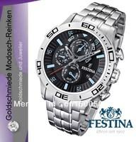 Festina F16565-5 Herrenarmbanduhr Chronograph Edelstahl NEU