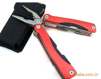 High-quality multi-function outdoor camping folding pliers AA2 Free shipping(China (Mainland))