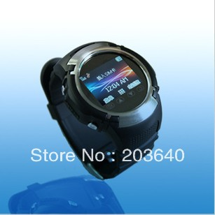 "sports watches/running/silicone watch/watch man,GPS tracker, watch, quad bands mobile phone, video camera, MP3, 1.5"", 1.3M pixel(China (Mainland))"