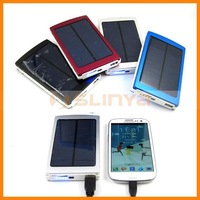 solar mobile charger 10000mah battery for iphone ipad samsung htc nokia