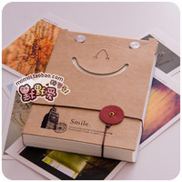 lovely Memo pads,office supplies products, self-adhesive notepad smile high quality Memo pads free shipping