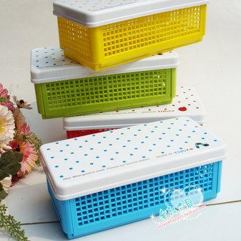 95040 mesh stationery box pencil case multi purpose storage box diy stationery