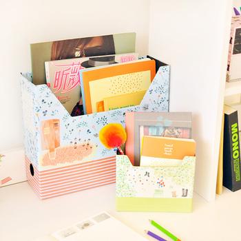 Angel zimu korea stationery fresh desktop storage box finishing box stationery box