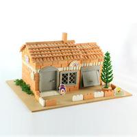 A brickyards clay child ceramic building blocks toy educational aids