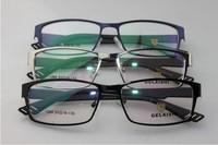 Metal Optical Myopia frame Men's eyewear full rim rim geek frame prescription glasses reading glasses for men new arrival 1264