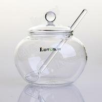 boracium silicon glass storage tank tea caddy coffee cans sugar jar