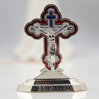 mini cross hand holding crucifix small cross Jesus prayer tiny base crosses Catholic religious gifts free shipping height 4cm