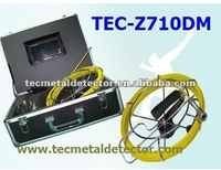 30m cable TEC-Z710DM  Drill sewer camera system