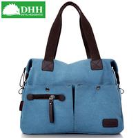 Free Shipping!2013 New Arrival Women's Canvas Shoulder Messenger Casual Vintage Handbag xqw003