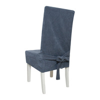 Lljf - professional all-inclusive one piece chair cover dining chair set cushion 20