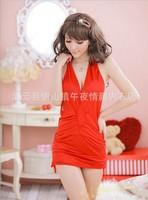 women lingerie euramerican pajamas hang neck nightgown more yards
