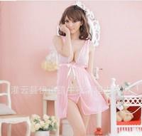 Both sides sexy nightgown wearing women's pyjamas